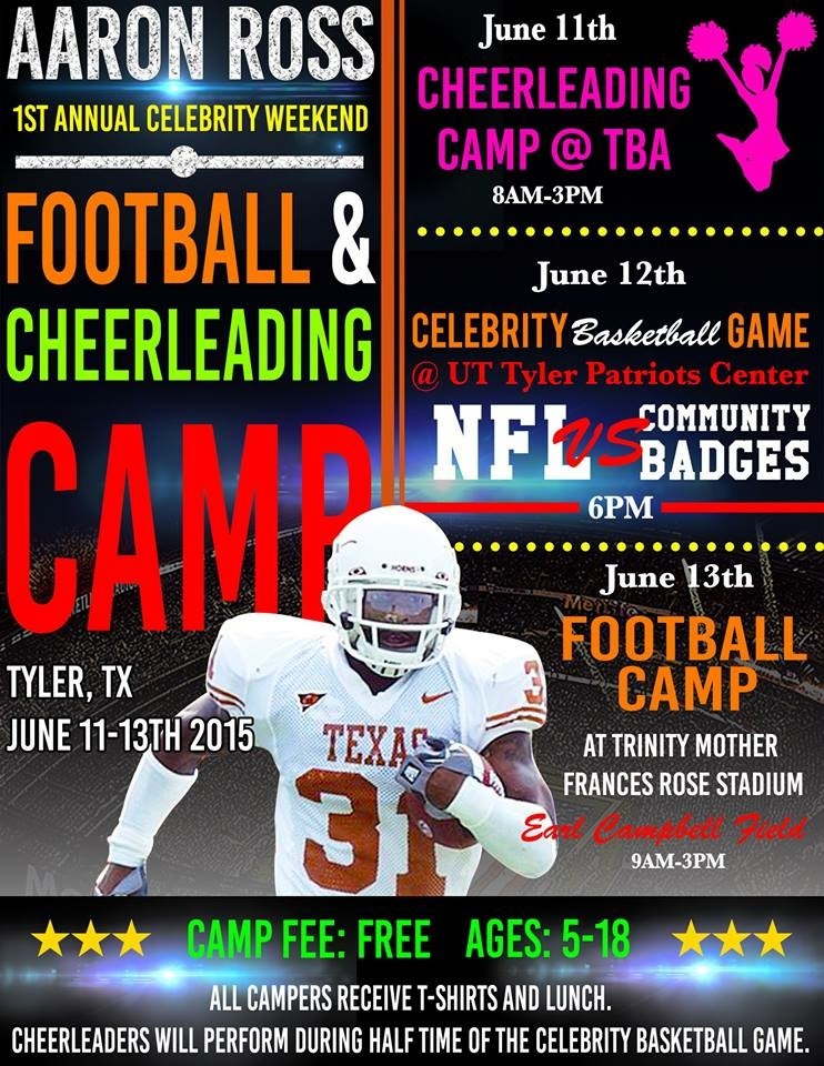 Aaron Ross Camp June 13